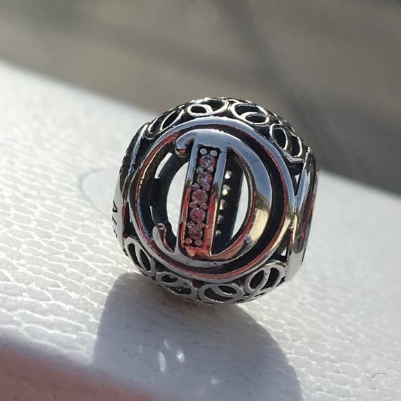 3af98874073 Pandora Vintage Letter D Charm